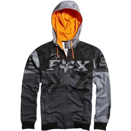 Fox Anthem Zip Front Hoody - Fox Racing   Moto Life