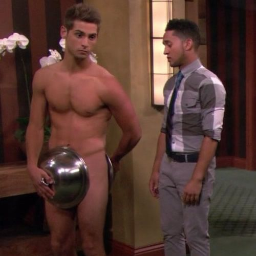 Striptease naked scenes