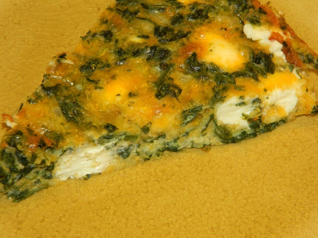 Gluten Free: Naked Spinach and Muenster Quiche This one is must ...