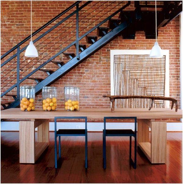 Papier peint briques rouges simplicity is the keyword pinterest - Papier peint brique loft ...