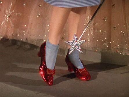 les chaussures de Dorothy!