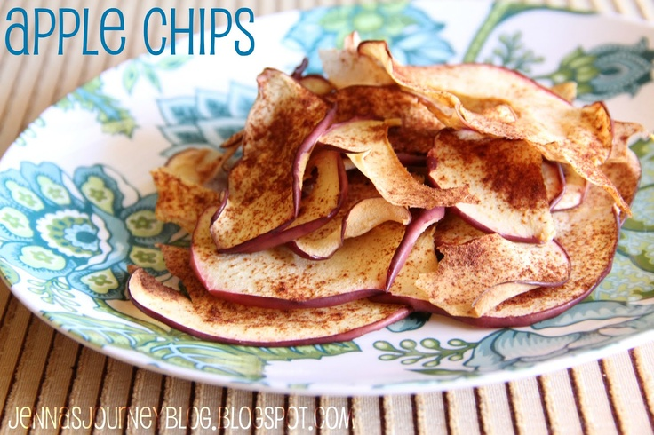 Apple Chips - just apples and cinnamon