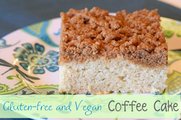 Gluten Free Vegan Coffee Cake - Ask Anna