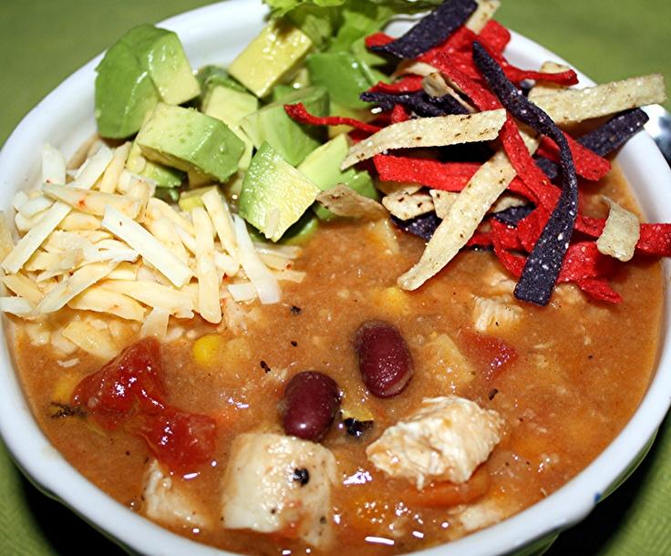 Mexican Chicken Tortilla Soup | Good Food | Pinterest