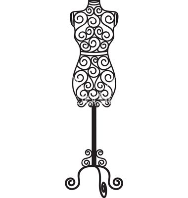 Forged mannequin vector, www.vectorstock.com Would make a great ...
