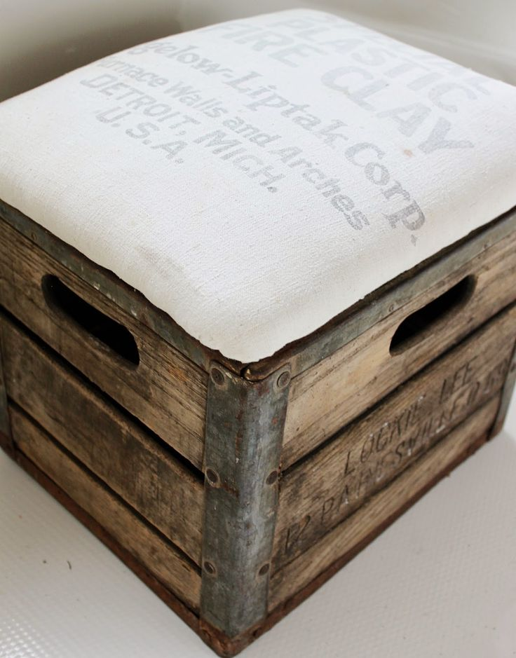 Namely Original Milk Crate Ottoman Future Projects