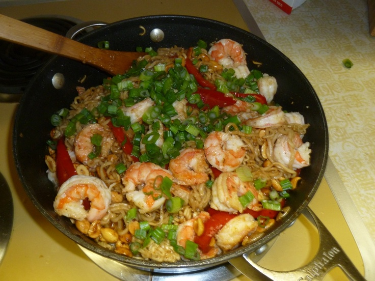 Kung Pao Shrimp | Yummies | Pinterest