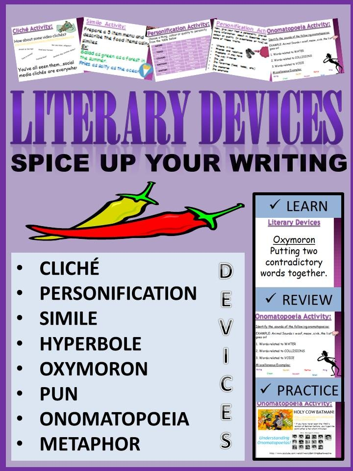 Essays literary devices