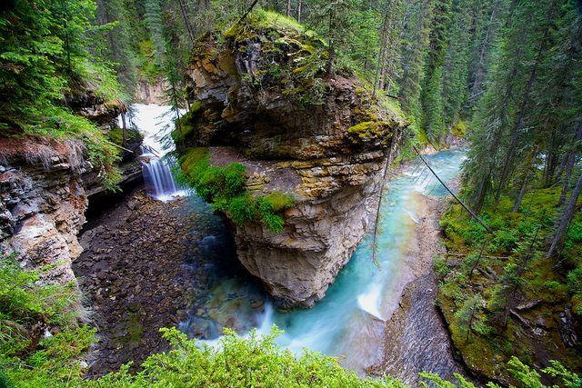 Johnston Canyon, Banff NP Alberta Canada