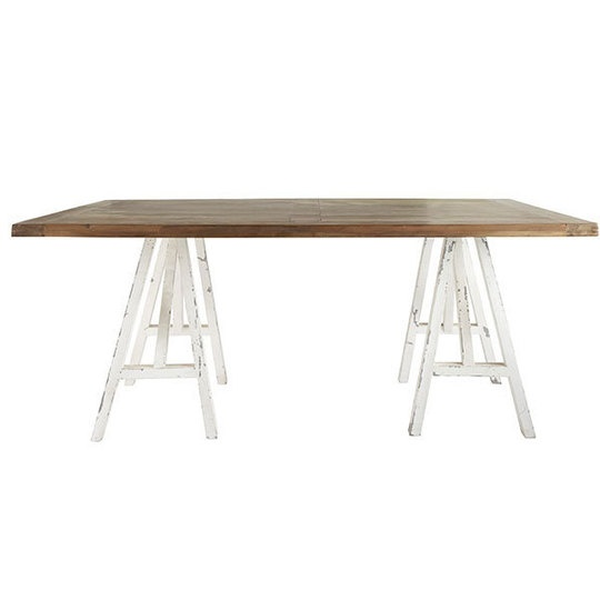 Sawhorse Tables