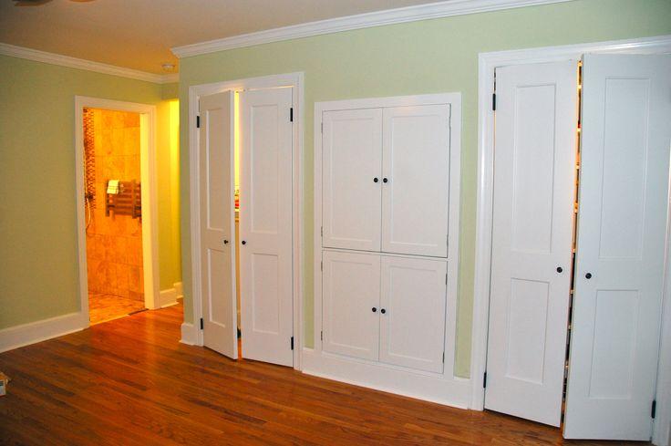Closet doors bedroom pinterest for Wall closet door ideas