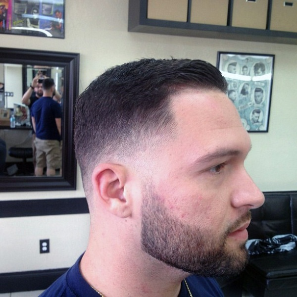 Haircuts For Men Low Fade With Pencil Sideburn | LONG HAIRSTYLES