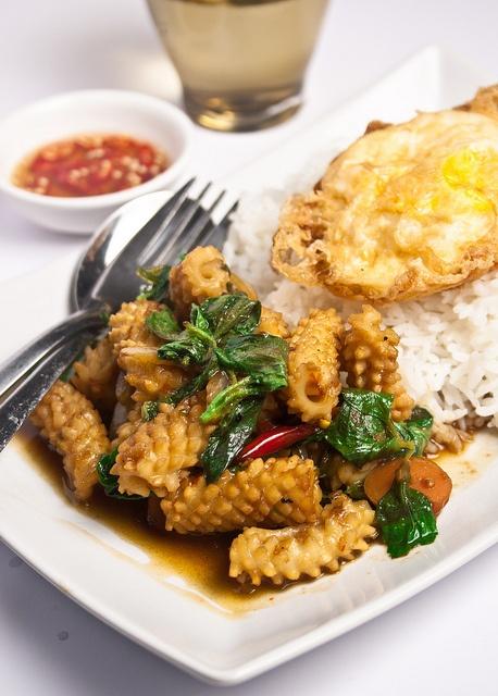 Thai Basil Squid Recipes — Dishmaps