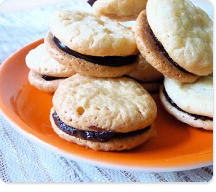 Chewy Amaretti Sandwich Cookies | Food | Pinterest