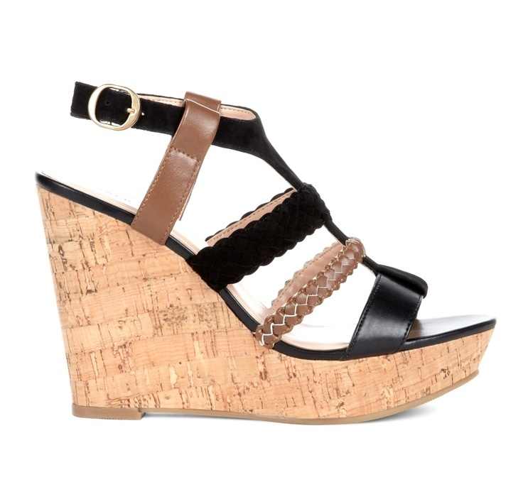 Wedge sandals are a savior when the weather heats up, and cork just makes a natural choice. These are the styles at the top of our shopping list. Summer wardrobe planning starts now.