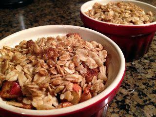 Skinny Weighs: Apple Crisp   Desserts   Pinterest