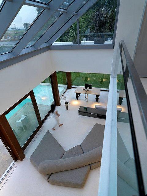 Modern Transparent Home Design from Architect Duilio Damilano