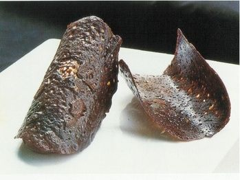 Chocolate tuiles (Jacques Torres)