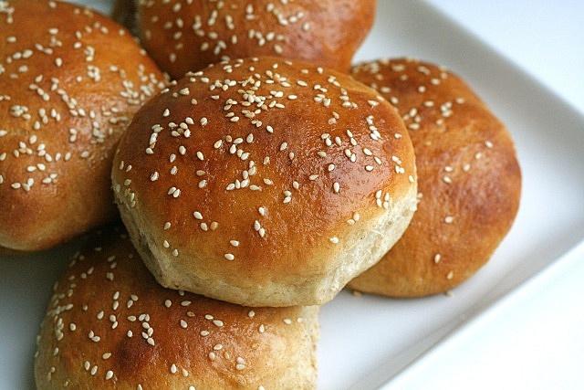 honey wheat sandwich buns by annieseats, via Flickr