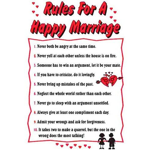 Rules for a happy marriage relatie tips pinterest