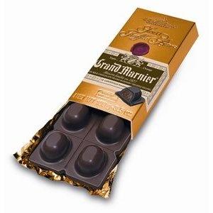 Grand Marnier Filled Chocolate Truffles Bar (3.5 Oz)