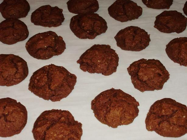 Delicious Low-Fat Ginger Molasses Cookies (Healthy!). Photo by I Can't ...