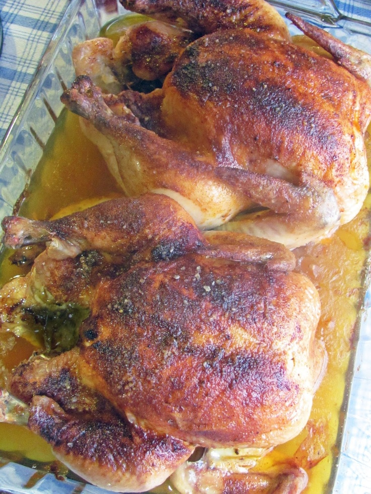 Smoked Paprika Roasted Chicken Recipe — Dishmaps