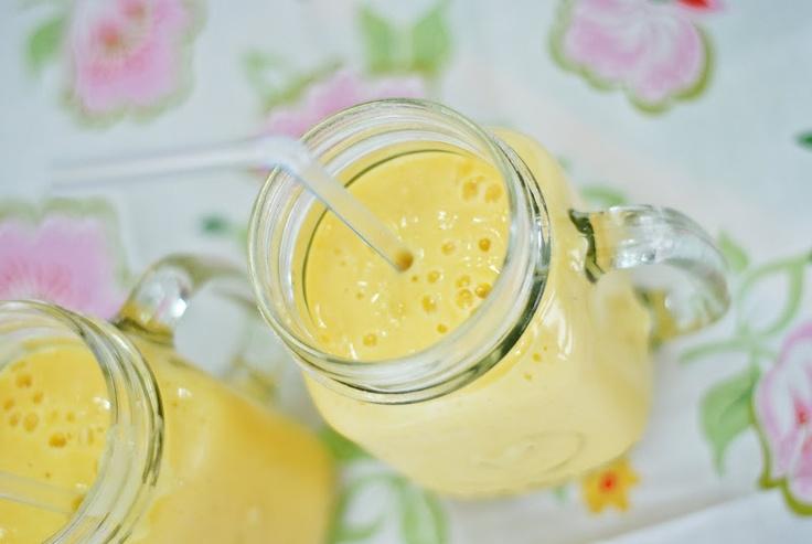 Mango yogurt drink | Drinks | Pinterest