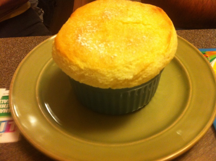 Vanilla Bean Souffle This is surprisingly really easy to make and ...