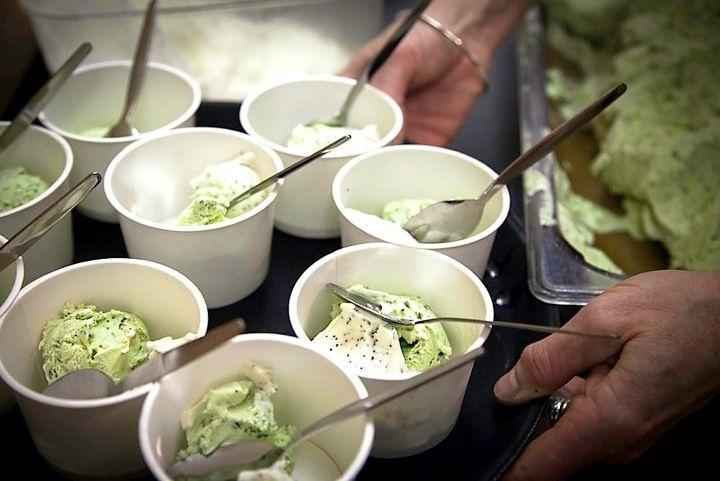 basil, cardamom and poppy seed ice cream | Ice cream | Pinterest