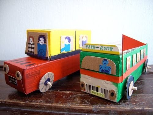 5 Toys You Can Make with Cardboard Boxes