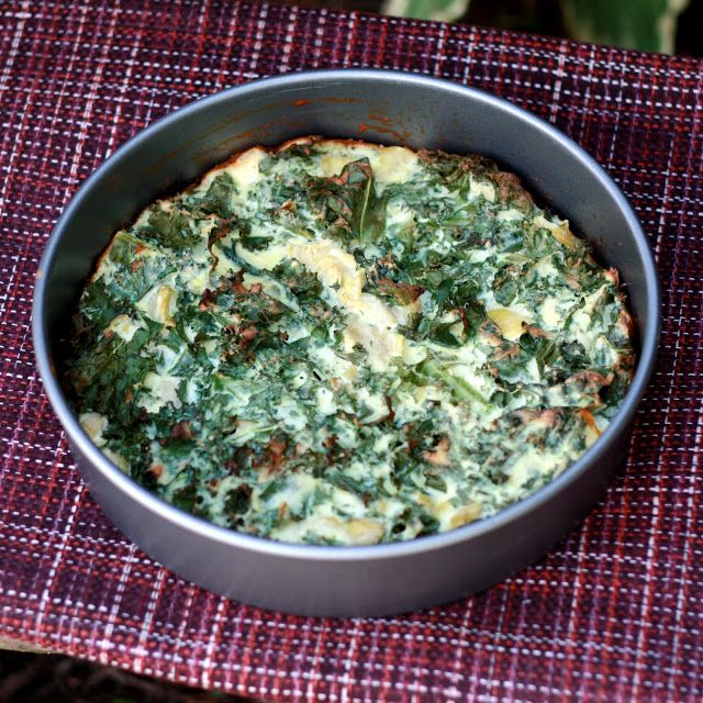 Artichoke, Kale, And Ricotta Pie With Eggs And Parmesan Recipes ...