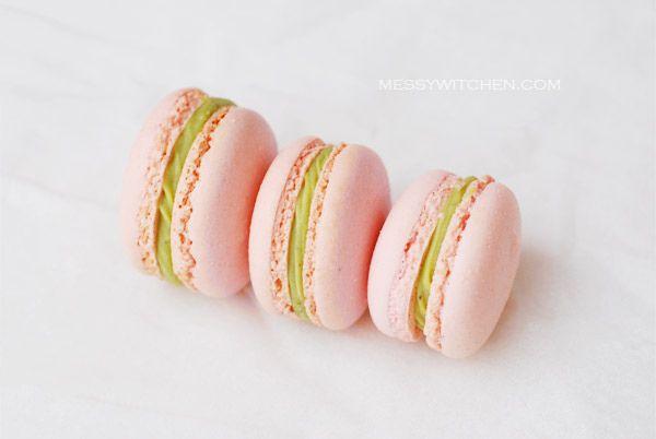 Pistachio Macaron | Cookies, Bars and Macarons | Pinterest