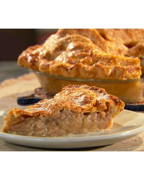 Old-Fashioned Apple Pie by Lucinda Scala Quinn