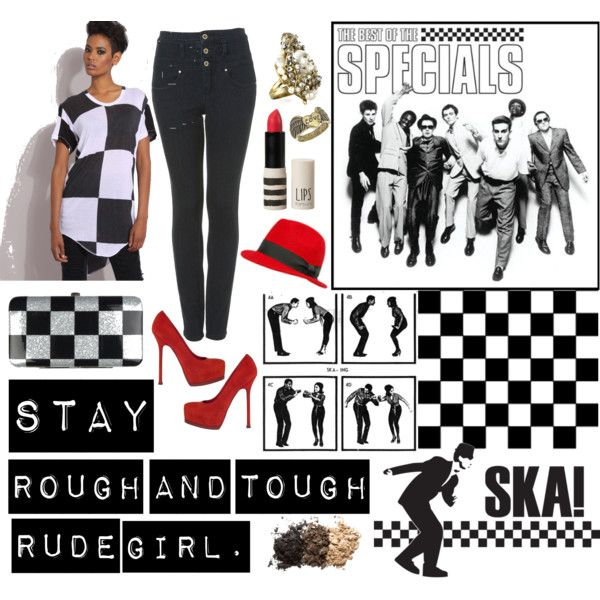 ska girl style | fashion, put it all on me | Pinterest