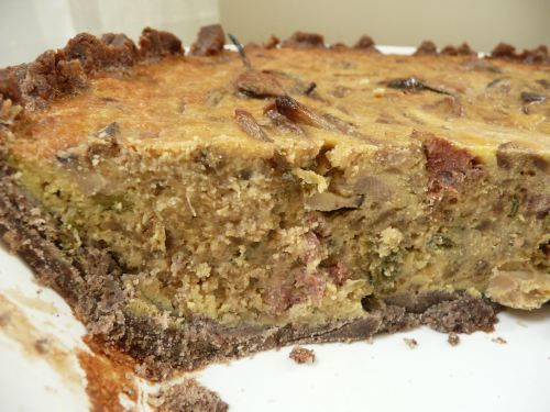 african spicy sausage   Lamb Merguez Sausage Quiche With Fennel, Onion ...