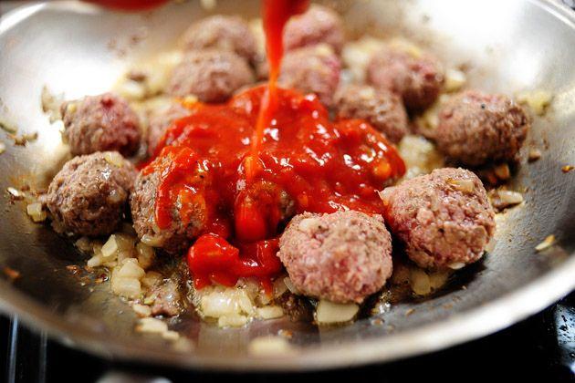 Mini Meatball Sandwiches | Recipe