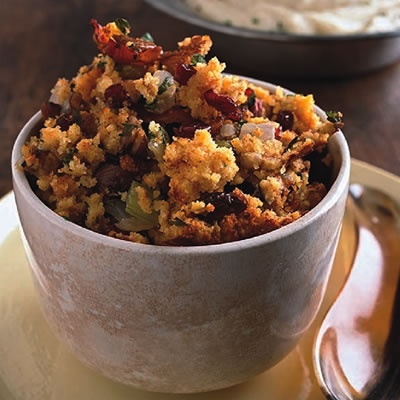 Toasted Cornbread, Bacon and Chestnut Stuffing | Recipe