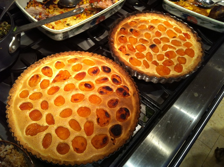 apricot tart - my aunt's recipe from her cookbook Canal House Cooking