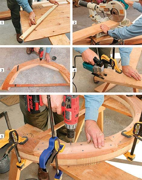 Как сделать арку своими руками пошагово