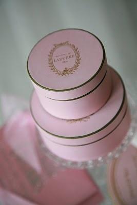 laduree pink boxes