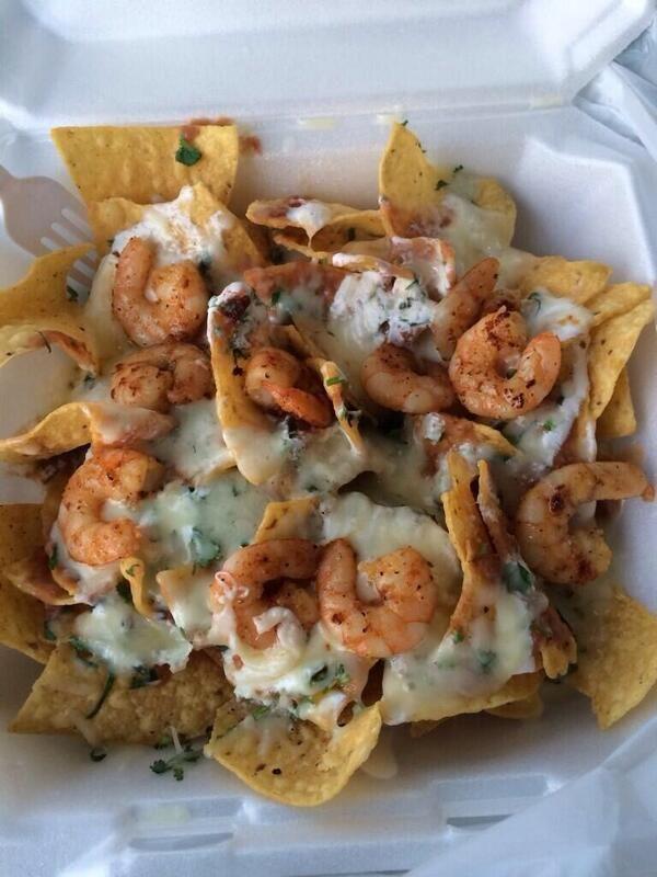 Shrimp nachos | Food | Pinterest