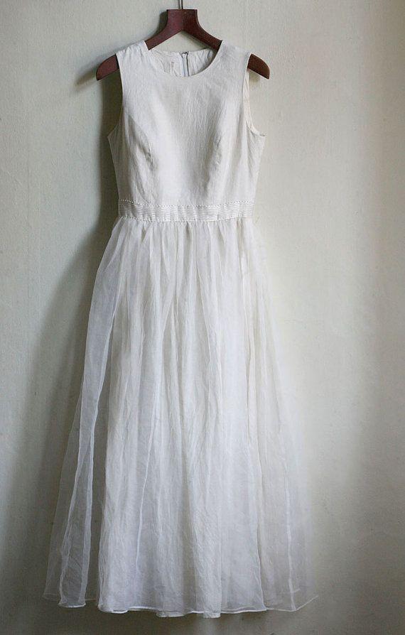 Linen Wedding Dresses 94