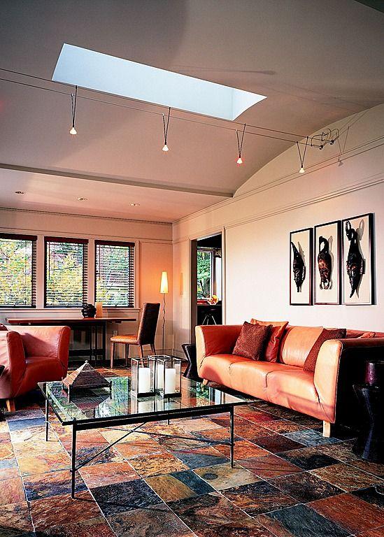 Orange beige blue living room orange room pinterest - Blue and orange living room ...