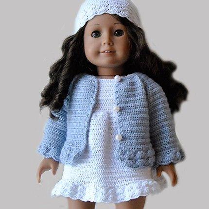 Crochet Pattern Central American Girl : Instant Download - PDF Crochet Pattern - American Girl ...