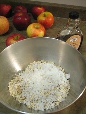 Breakfast apple granola crisp from bakingdomesticityallthingsmini ...