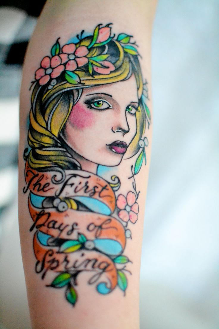 First Days of Spring Tattoo / Whimsy Darling