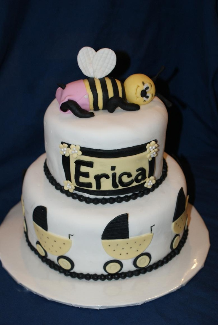 bumble bee baby shower cake baby shower pinterest