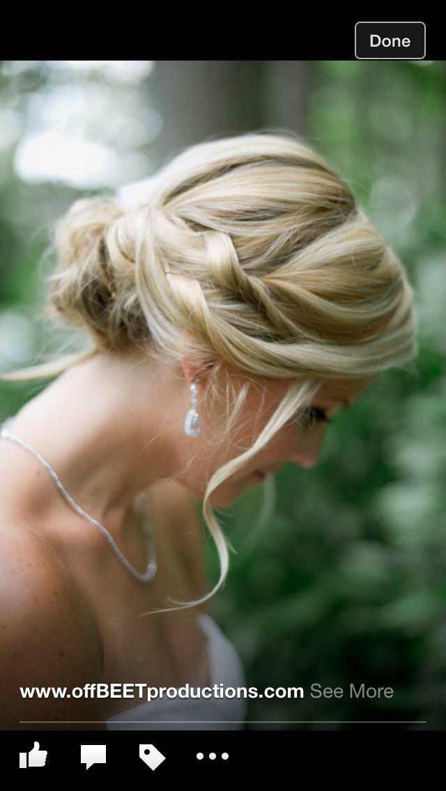 Loose wedding updo. Bridal hair. | Wedding | Pinterest
