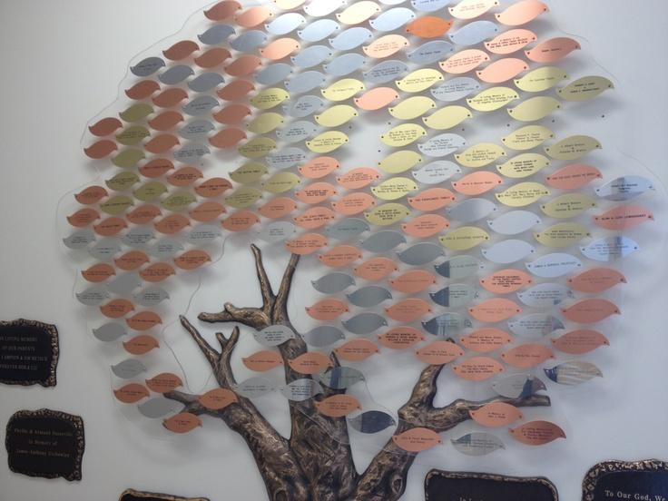 Metal Leaf Memorial Tree Inspiration Pinterest